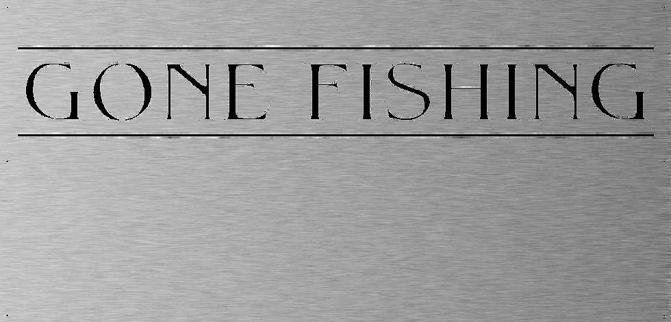 Gone Fishing Panel