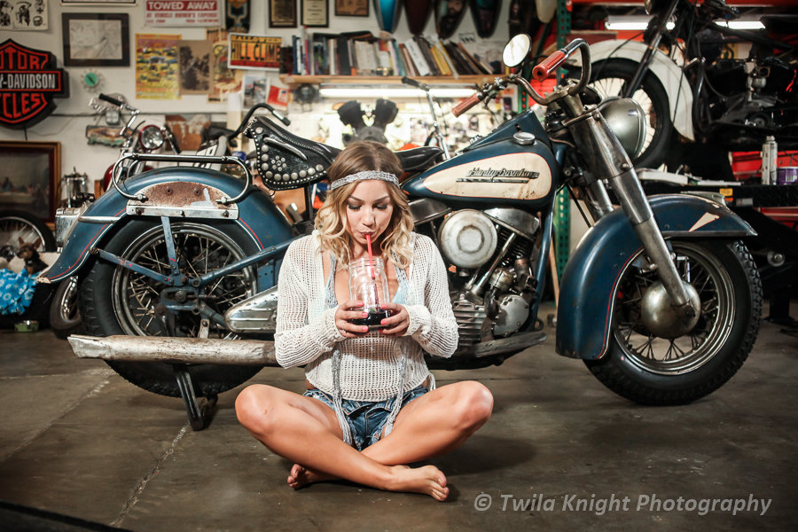 Model and Bike Session