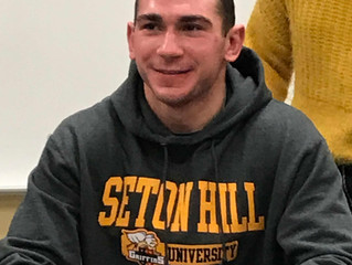 Seton Hill Griffins wrestling coach Brian Tucker has announced five members of his newest signing cl
