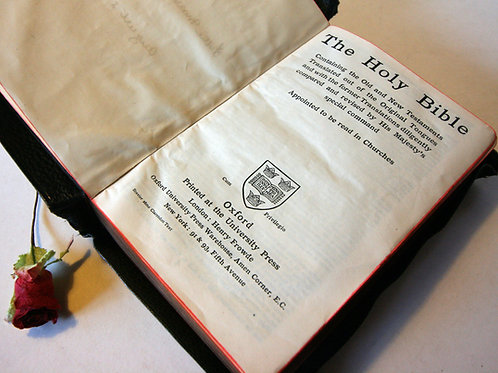 Bible, New Testament 1920s Antique