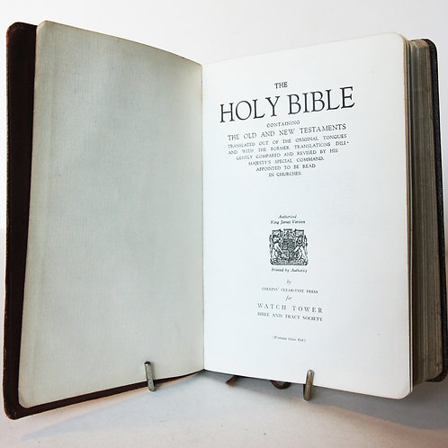 Holy Bible Christian religious book