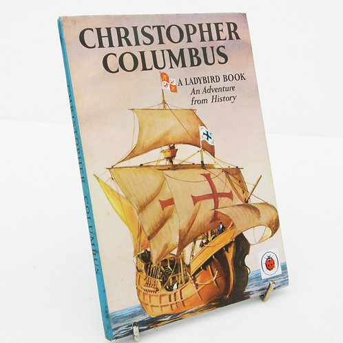 Christopher Columbus Ladybird Adventure Book 1961