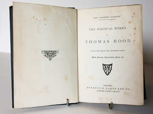 Poetical Works of Thomas Hood