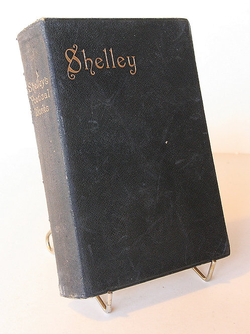Shelley Poetical Works Antique