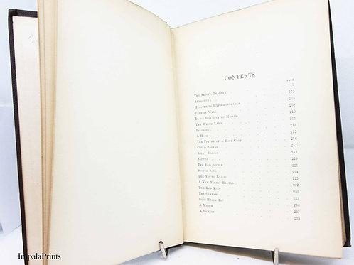 Charles Kingsley Poetry book Antique 1897 Greek poems Poetry Vintage Book Hardba