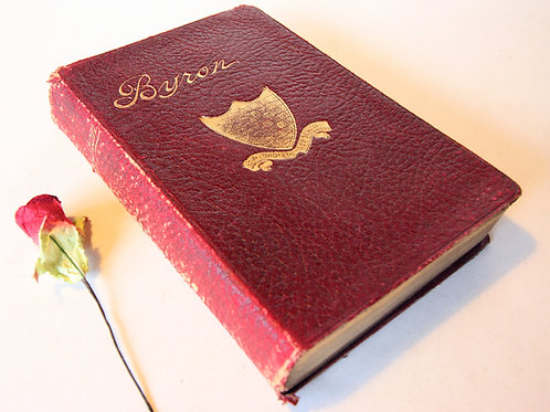 Byron Antique Poetry Book 1910