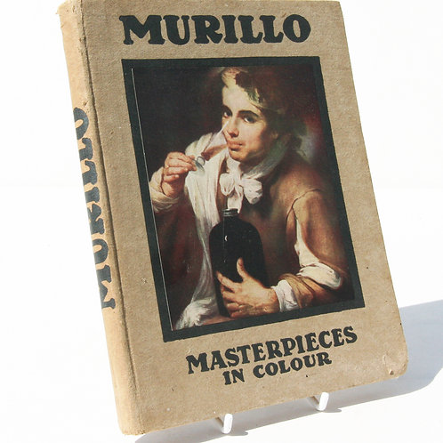 Murillo Antique 1914 Great Masters