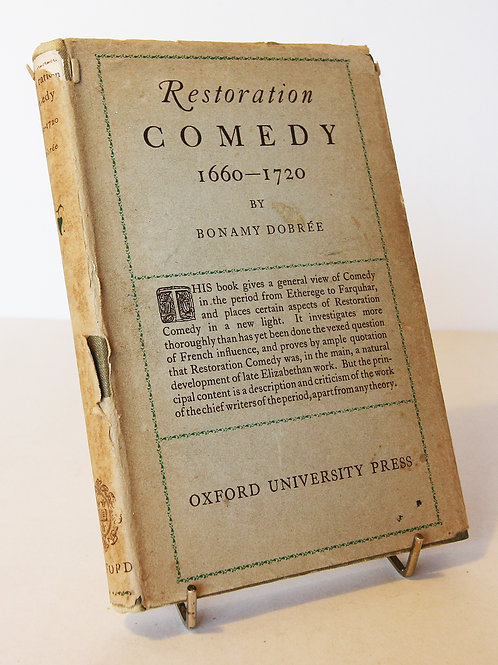 Restoration Comedy 1660 - 1720