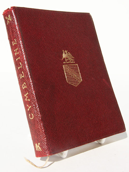 William Shakespeare Tragedy of Cymbeline, 1901