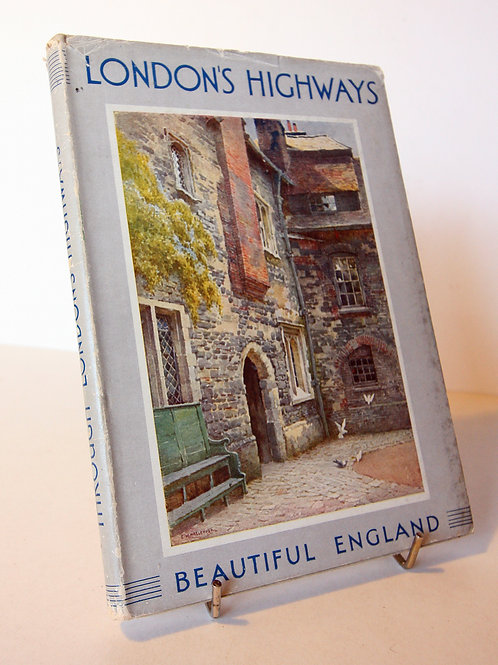 Londons Highways Picture Book Antique