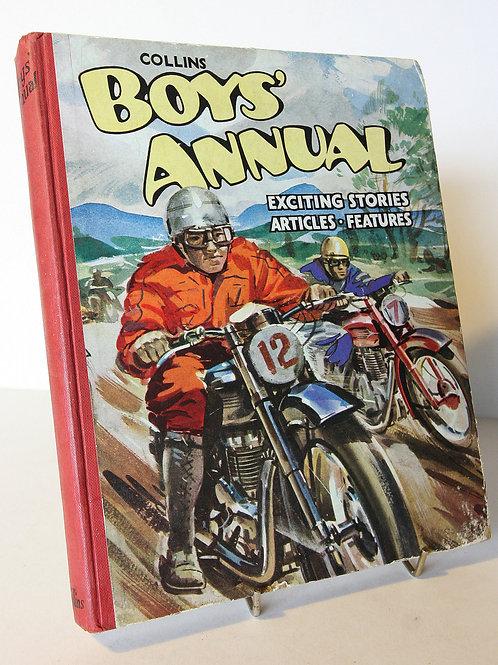 Boys Annual 1950s Vintage Children's Book