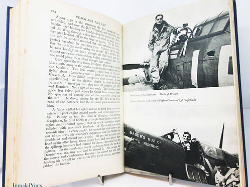 Reach for the Sky, Douglas Bader 1955 World War Two aviation Aircraft Vintage bo