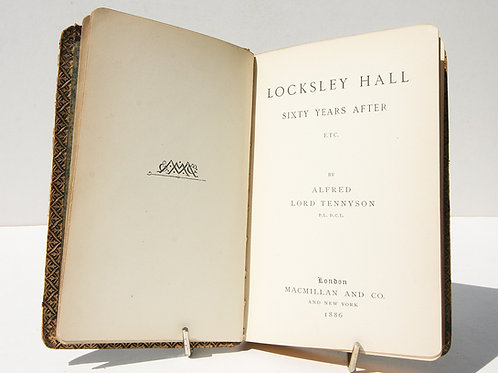 Locksley Hall Sixty Years After