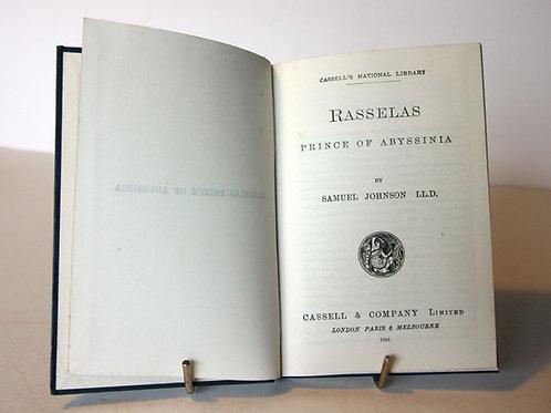 Rasselas, Prince Of Abyssinia 1894