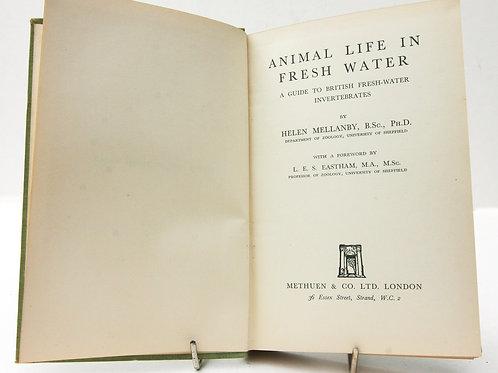 Animal life Fresh Water 1938