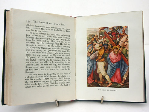 The Story of Our Lords Life Illustrated 1904