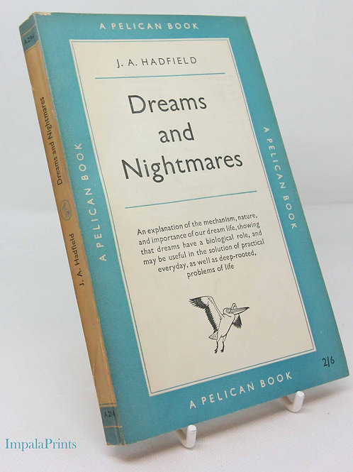 Psychology book Dreams and Nightmares 1954 Psychology Pelican Series Vintage Fa