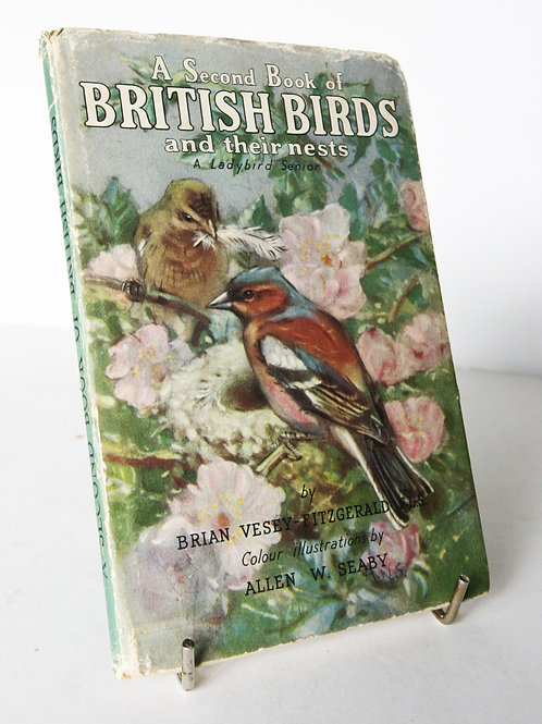 British Birds Ladybird book