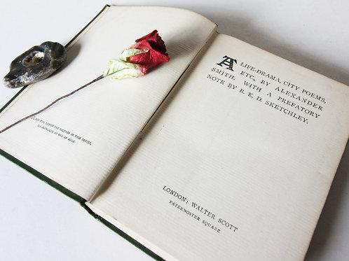 Alexander Smith Scotland Poetical works