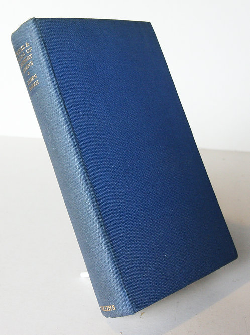 Vintage Robert Burns Poetry & song book
