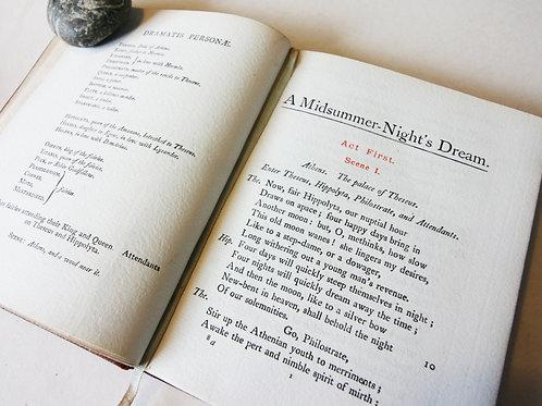 Midsummer Nights Dream William Shakespeare 1901