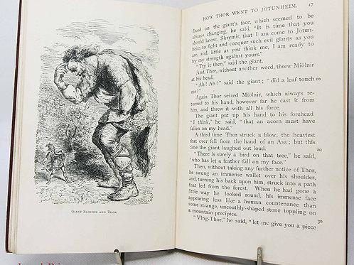 Heroes of Asgard, Mythology 1935 Illustrated myth Norse sagas and Edda's Viking