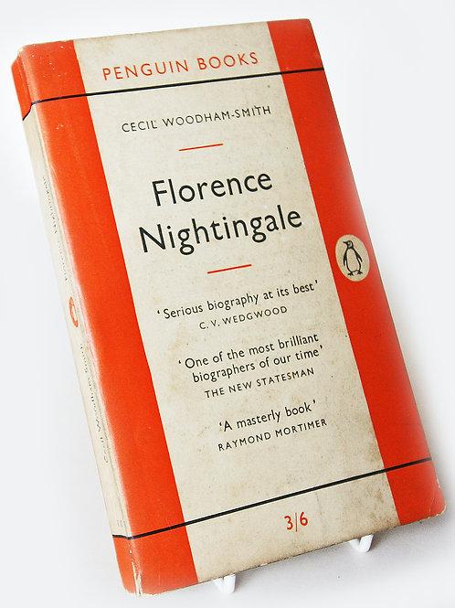 Florence Nightingale Vintage Penguin 1955 History Book Vintage Famous Cecil Woo