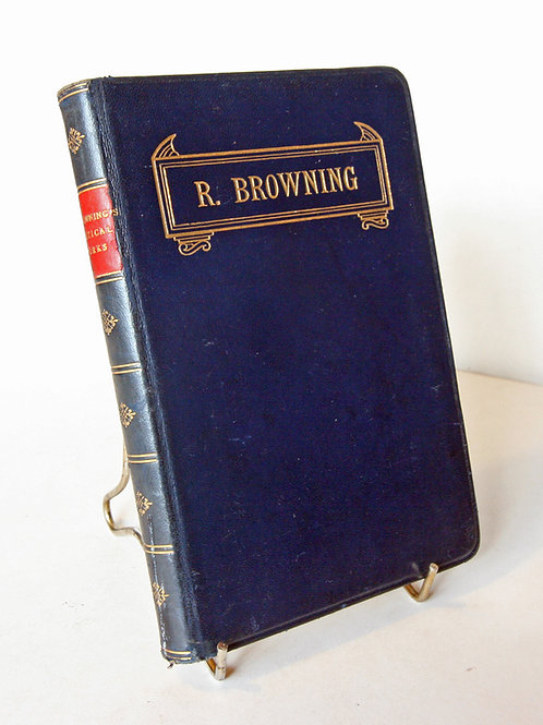 Poems of R. Browning 1910s