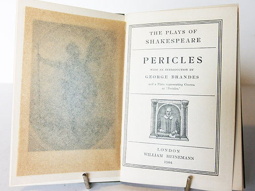 Pericles William Shakespeare 1904