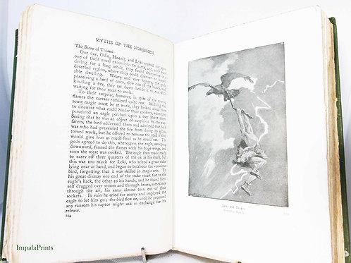 Norse Mythology 1925 Norse Mythology Antique myth Norse sagas and Edda's Viking