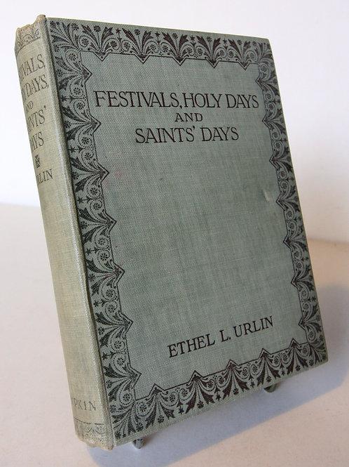 Festivals, Holy Days And Saints Days