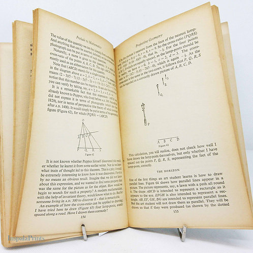 Maths Book Mathematician's Vintage Book  1955 Classic Reference mathematical boo