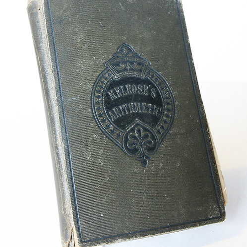 Antique Arithmetic Maths Book 1890