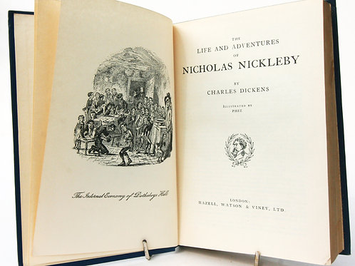 Nicholas Nickle by by Charles Dickens