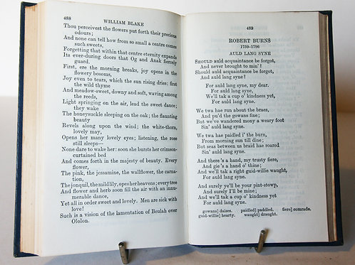 English Verse Dryden to Wordsworth Poetry
