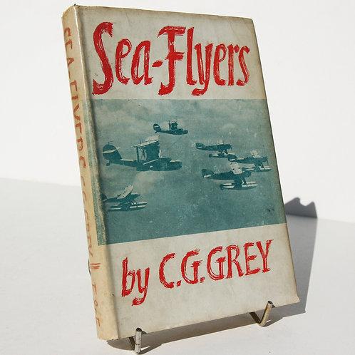 Sea Flyers 1940s Illustrated Vintage