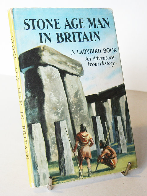 Stone Age Man in Britain Ladybird Book