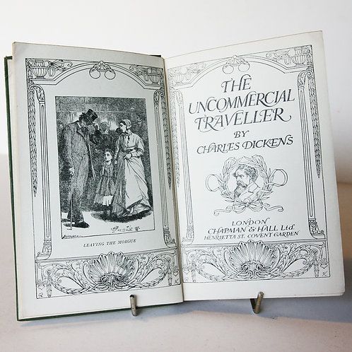 Antique Book The Uncommercial Traveller