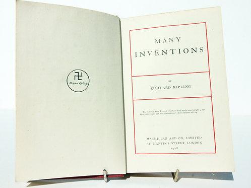 Rudyard Kipling Many Inventions 1918