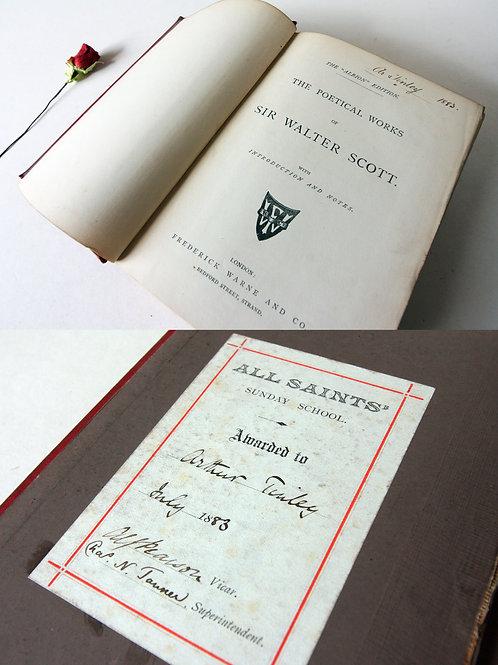 Sir Walter Scott Poetical Works 1800s