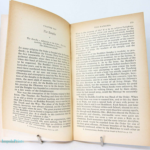 Buddhism Vintage Book Pelican Philosophy Series Vintage 1951 book paperback budd