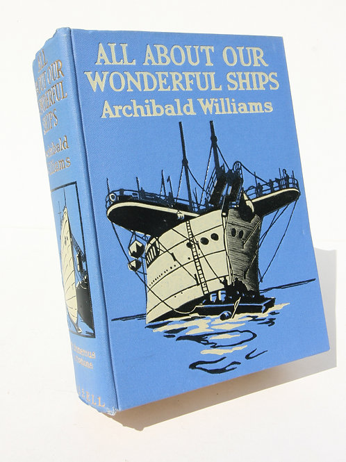Wonderful Ships 1924 Illustrated