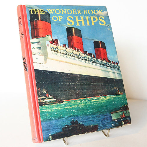 Vintage Book of Ships
