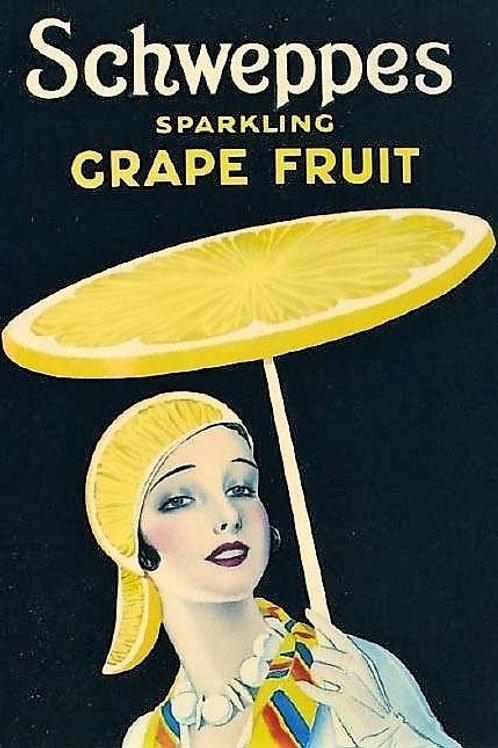 Schweppes Vintage Image Card
