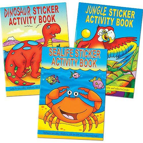 Animal  Activity Sticker Books