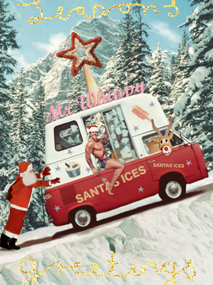 Mr Whippy Christmas Card Pack Of 5