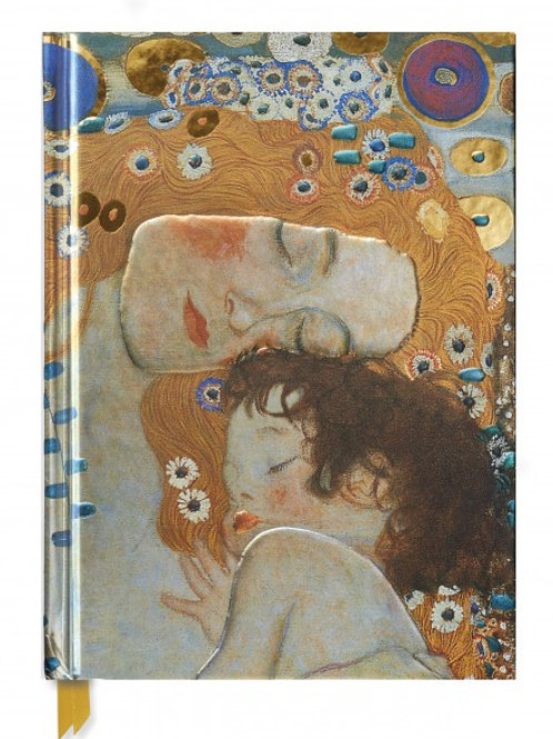 Gustav Klimt: Three Ages of Women (Blank Sketch Book)