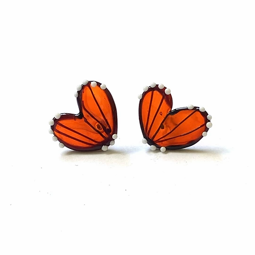 Helen Chalmers Satsuma Butterfly Wing Studs