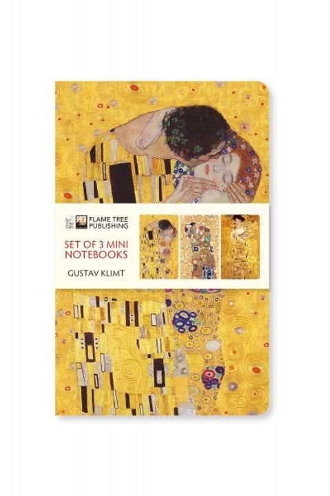 Gustav Klimt Mini Notebook Collection