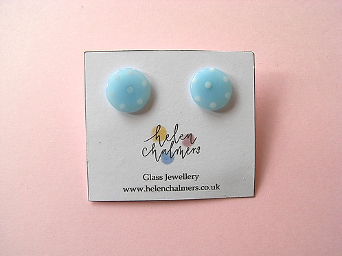 Helen Chalmers Dotty Button Studs (Design 13)